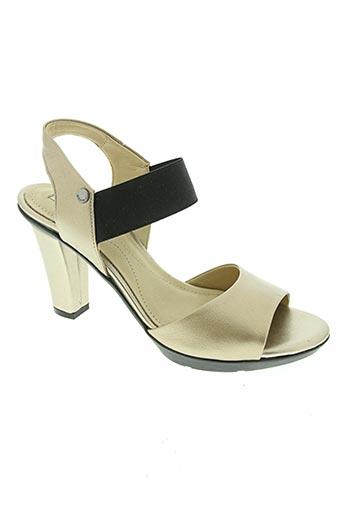 geox chaussures femme de couleur jaune