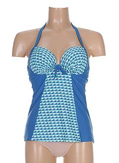 Top de bain bleu CURVY KATE pour femme