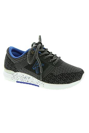 kickers chaussures fille de couleur noir