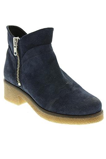 dkode chaussures femme de couleur bleu