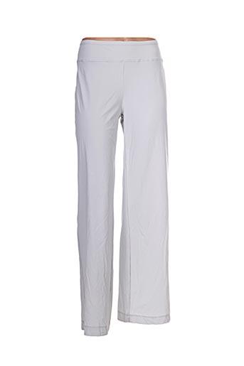 Pantalon 7/8 gris E-BRYDE pour femme