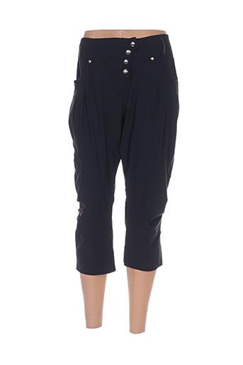 platine collection shorts / bermudas femme de couleur noir