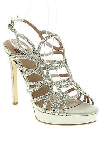 bibi lou chaussures femme de couleur gris