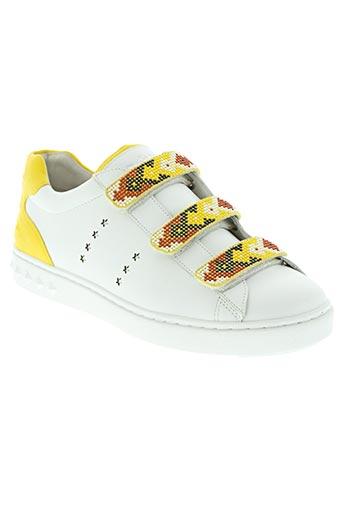 ash chaussures femme de couleur jaune