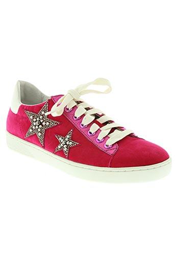 lola cruz chaussures femme de couleur rose