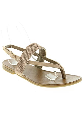 inuovo chaussures femme de couleur rose