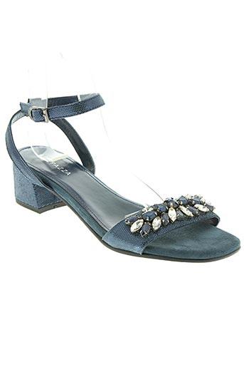 apepazza chaussures femme de couleur bleu