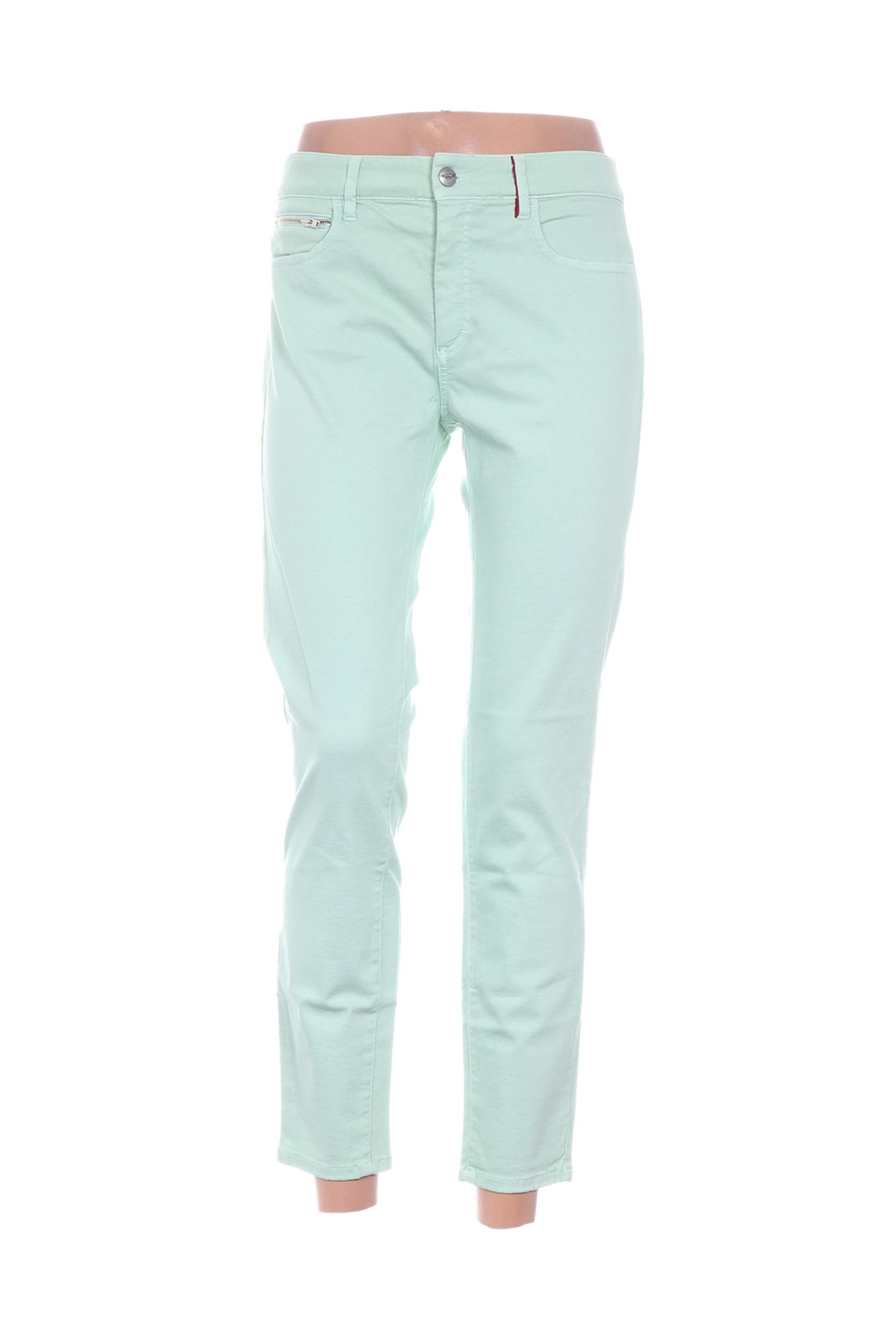 Pantalon 7/8 femme Couturist vert taille : W34 26 FR (FR)