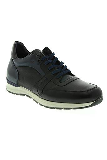 fluchos chaussures homme de couleur bleu
