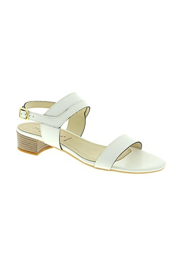 pettegola chaussures femme de couleur blanc