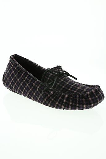 ruby brown chaussures homme de couleur violet