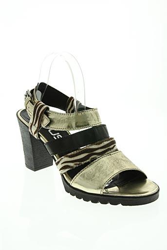 mjus chaussures femme de couleur jaune