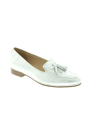 pinto di blu chaussures femme de couleur gris