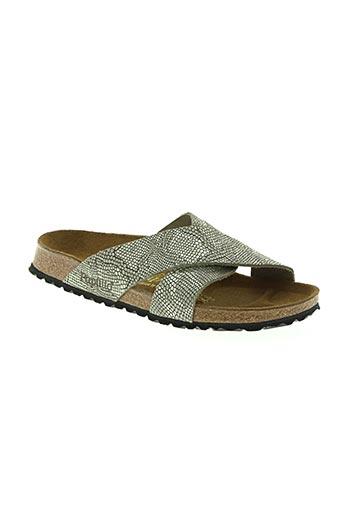 papillio chaussures femme de couleur gris