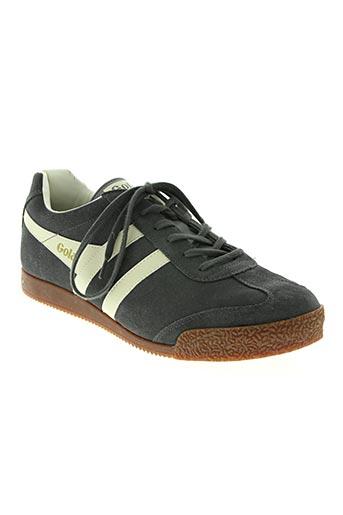 gola chaussures homme de couleur gris