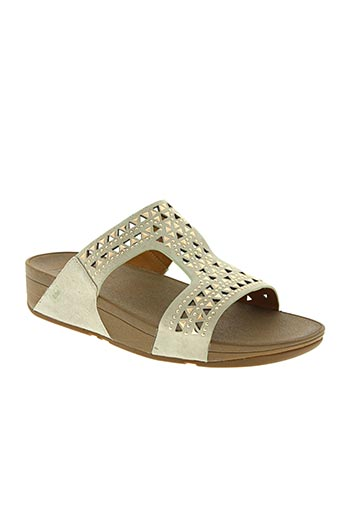 fitflop chaussures femme de couleur beige