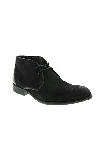 Bottines/Boots bleu HEXAGONE pour femme
