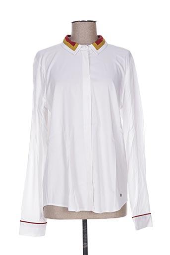 numph chemises femme de couleur blanc