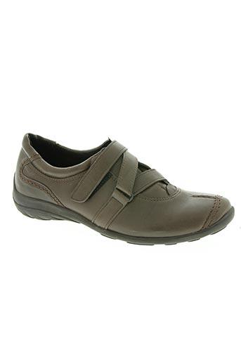 4x comfort chaussures femme de couleur marron