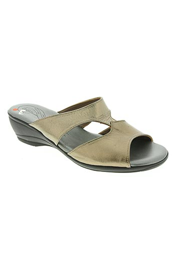 salmone chaussures femme de couleur beige
