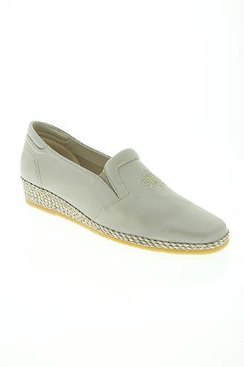 spiffy chaussures femme de couleur gris