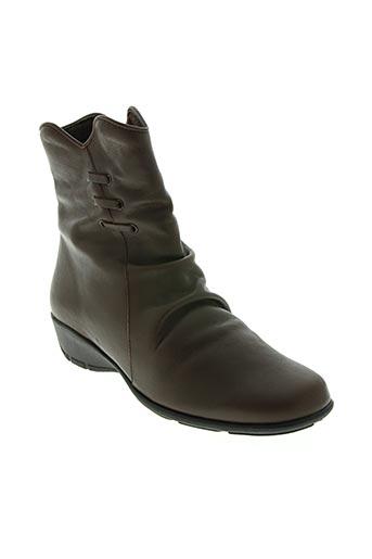 spiffy chaussures femme de couleur marron