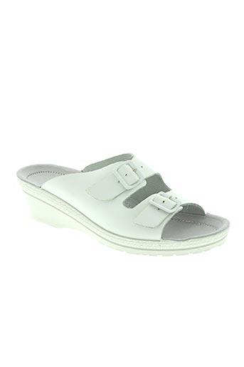 rohde chaussures femme de couleur blanc