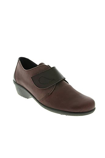 rohde chaussures femme de couleur rouge