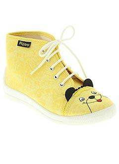 b6d2d511eea2e1 Chaussures Fille De Couleur Jaune En Soldes Pas Cher - Modz