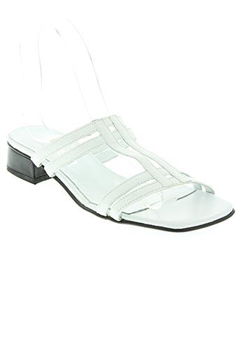 strade varie chaussures femme de couleur blanc