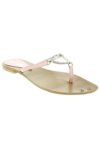 strade varie chaussures femme de couleur rose
