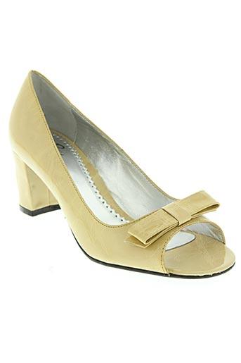 paradoxale chaussures femme de couleur beige