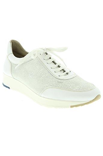 baerchi chaussures femme de couleur blanc