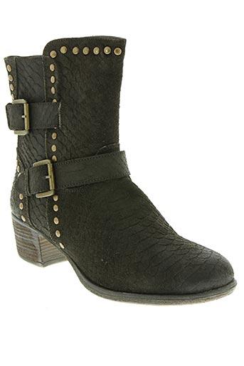 stressless chaussures femme de couleur marron