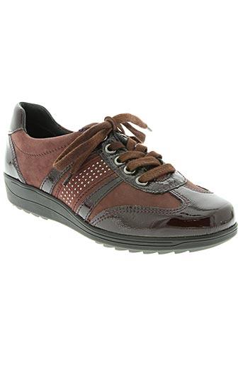 ara chaussures femme de couleur rouge
