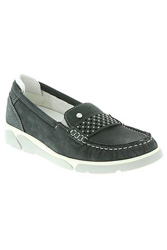 ara chaussures femme de couleur bleu