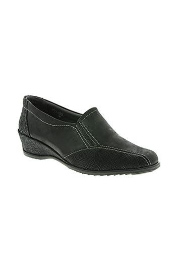 suave chaussures femme de couleur noir