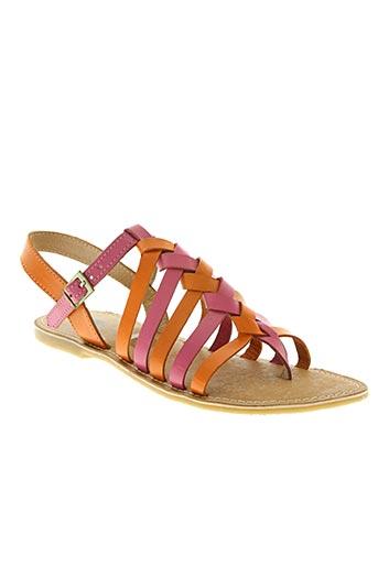 bopy chaussures femme de couleur rose