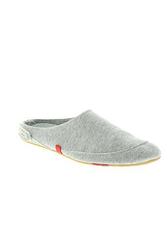 kitzbühel chaussures femme de couleur gris