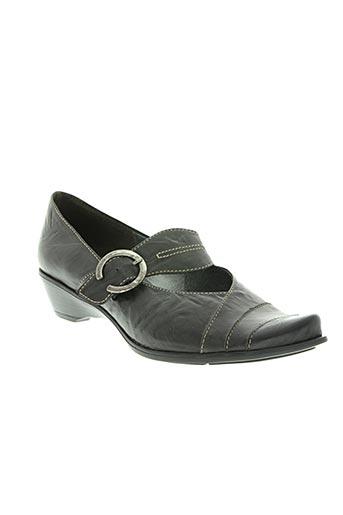 un tour en ville chaussures femme de couleur gris