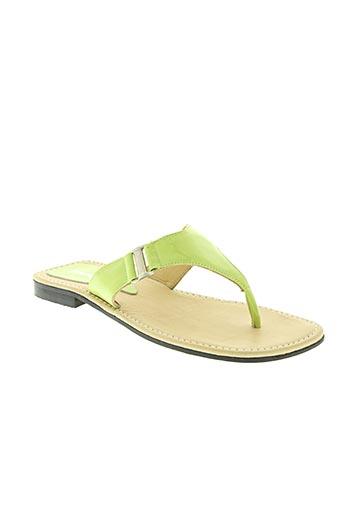 strade varie chaussures femme de couleur vert