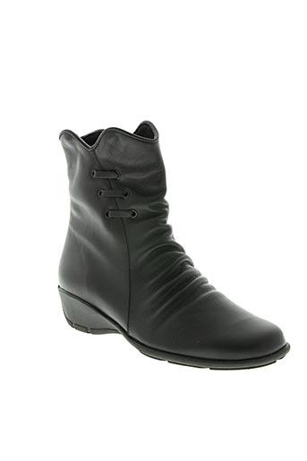 spiffy chaussures femme de couleur noir