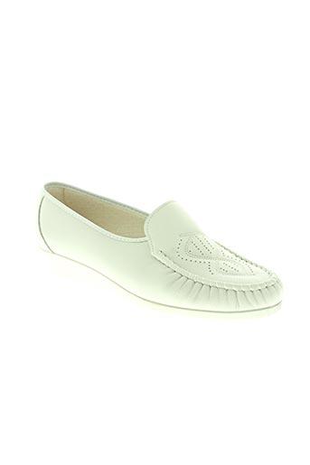 boissy chaussures femme de couleur blanc
