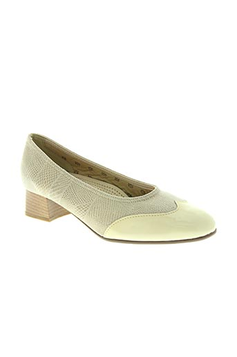 jmg houcke chaussures femme de couleur beige