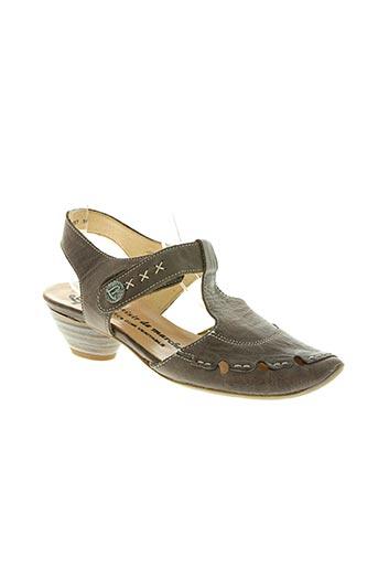 luxat chaussures femme de couleur marron