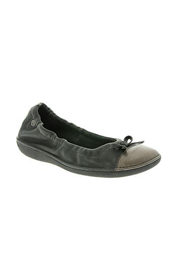 tbs chaussures femme de couleur gris
