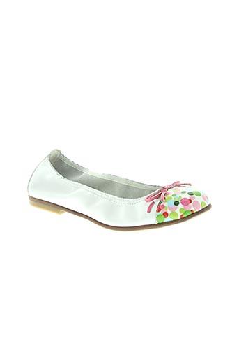 bopy chaussures fille de couleur blanc