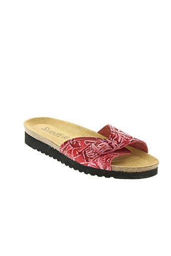 swedish hasbeen chaussures femme de couleur rose