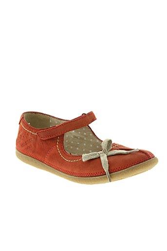buggy chaussures femme de couleur rouge