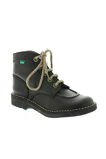 kickers chaussures enfant de couleur noir